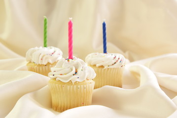Candle Cupcakes