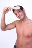 Men Brush Head poster