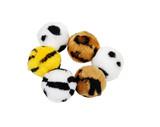 Fuzzy animal balls poster