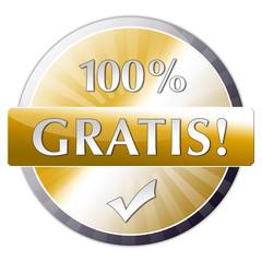 Button 100% gratis
