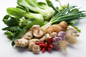 Assorted Asian vegetables