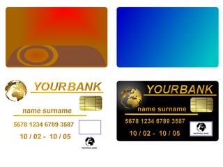 Carte di credito da coporre