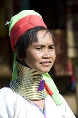 Thailand Padaung woman