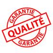 """Tampon """"Qualité Garantie"""" (rouge)"""