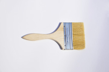 paintbrush on white