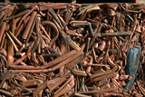 A bale of recycling copper