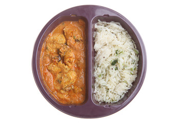 Microwave Indian Curry Meal