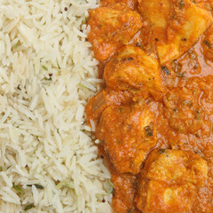 Indian Chicken Tikka Masala Curry
