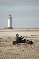 kite buggy & light house