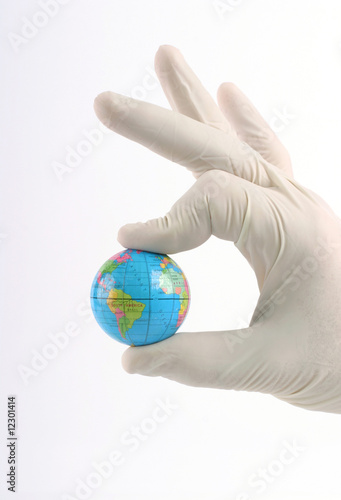 little Earth globe