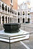 Doges palace inside, Venice, Italy