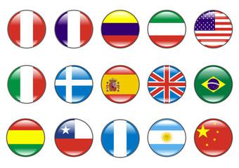 circulos banderas
