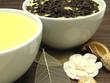 Vanillepuddings in Porzellanschalen mit und ohne Schokostreusel