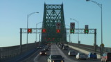 Jacques Cartier Bridge Time lapse