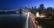 New York City- FDR highway and Brooklyn Bridge
