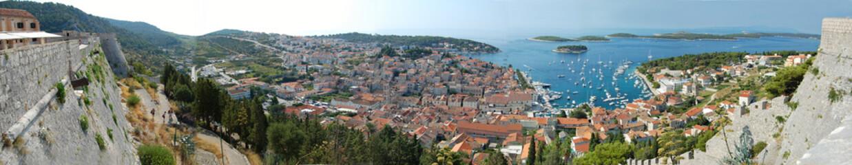 Hvar croatia panorama