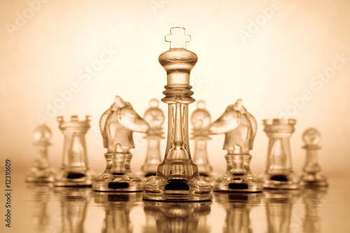 Transparent chess