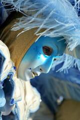 maschera azzurra - carnevale Venezia