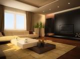 Fototapety modern living room