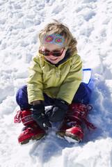 Scivolare sulla neve