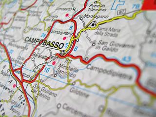 cartina campobasso