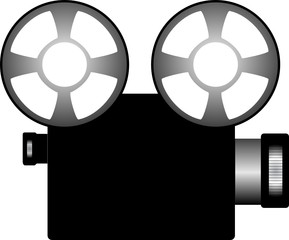 illustration of a Film projector