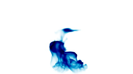 Blue flames background,seamless loop