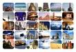 Leinwanddruck Bild - travel