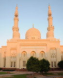 Obraz na płótnie Jumeirah Mosque in Dubai, United Arab Emirates