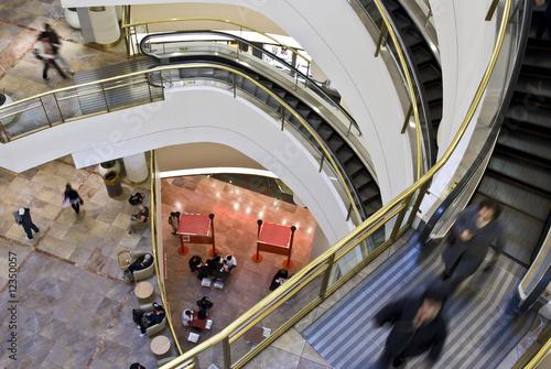 multilevel shopping mall