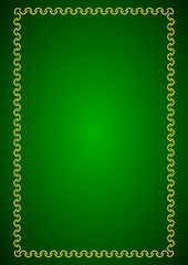 green background - vector