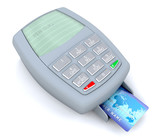 credit card transaction poster