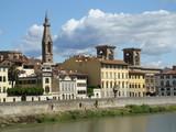 pałace nad Arno we Florencji poster