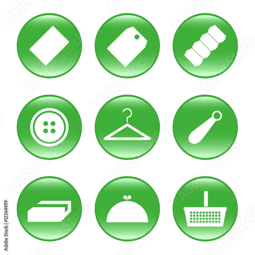 Trade - vector web icons (buttons)
