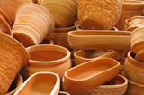 Pottery earthenware crockery poster