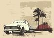 roleta: vintage car