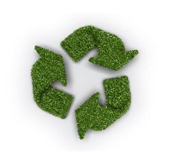 Reciclado de hojas
