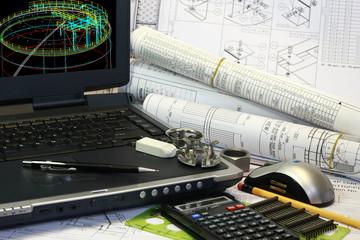 Drafting of Storage Tank