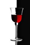 Fotoroleta Kieliszek czerwonego wina