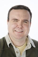 Portrait of mid-adult man