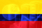 Flag of Colombia poster