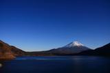 Fototapety 富士と本栖湖