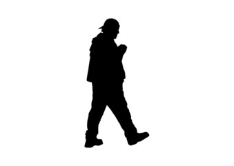 Hombre andando