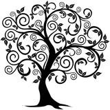 Fototapety Vector tree