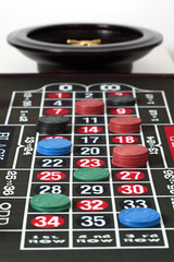 Roulette and chips