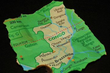 Map of Congo 1