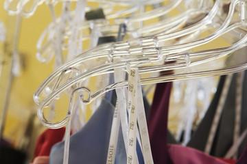 View of hangers.