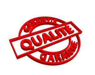 """Tampon """"Qualité Garantie"""""""