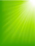 Fototapety Green light burst
