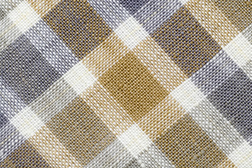 Close up Gridded Fabric background